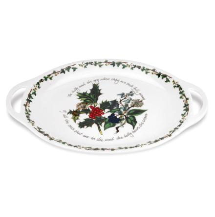 Holly & Ivy Oval Hochled Platt