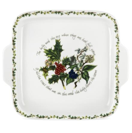 Holly & Ivy Square Hochled Cak