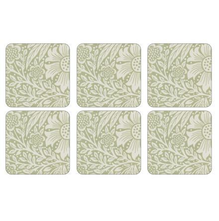 Marigold Green Glasunderlägg 6-pack