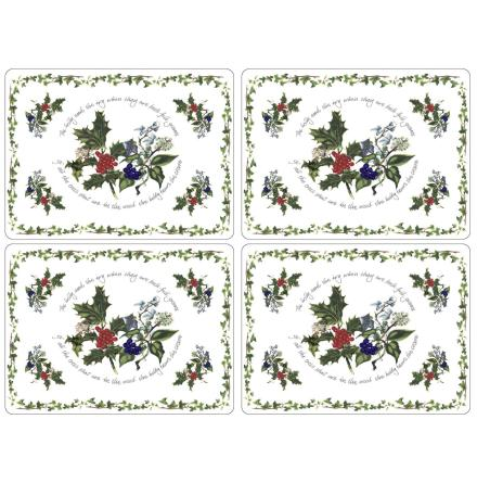 The Holly & The Ivy Large Bordsunderlägg 4-pack