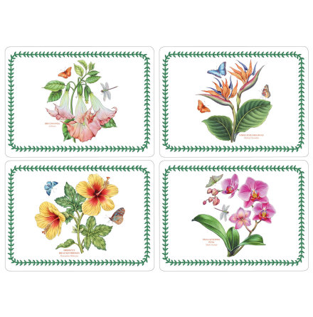 Exotic Botanic Garden Bordsunderlägg 4-pack