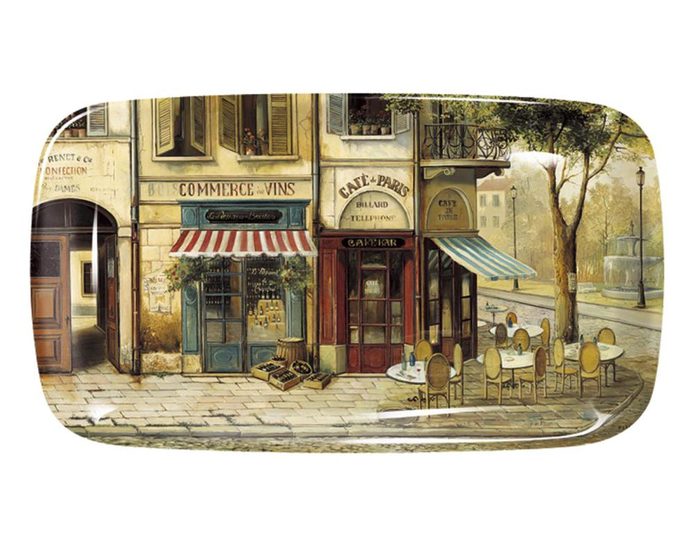 Parisian Scenes Sandwich Bricka