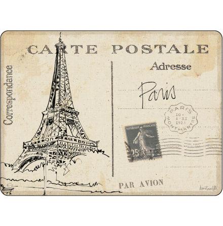 Postcard Sketches Bordsunderlägg Small  6-pack