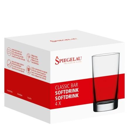 Classic Bar Softdrinkglas / Vattenglas 4-pack