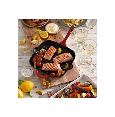 Grillpanna i gjutjärn Pomegranate 25cm