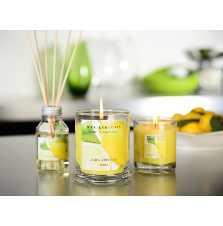 Fragranced Boxed Candle Lemon Verbena Doftljus