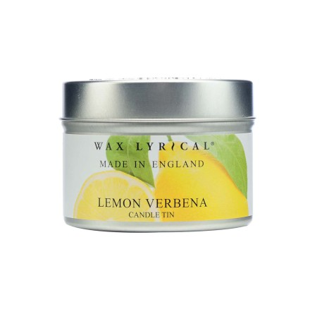 Fragranced Candle Tin Lemon Verbena Doftljus