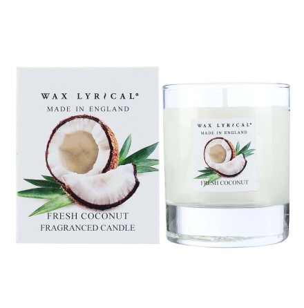 Fragranced Boxed Candle Fresh Coconut Doftljus