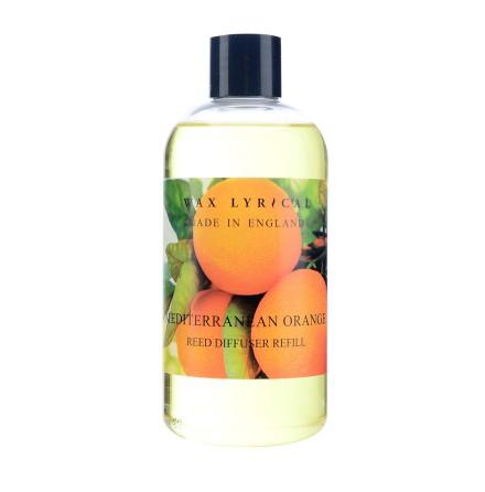 Fragranced Reed Diffuser Refill Mediterranean Orange