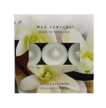 Tealights Vanilla Flower Värmeljus