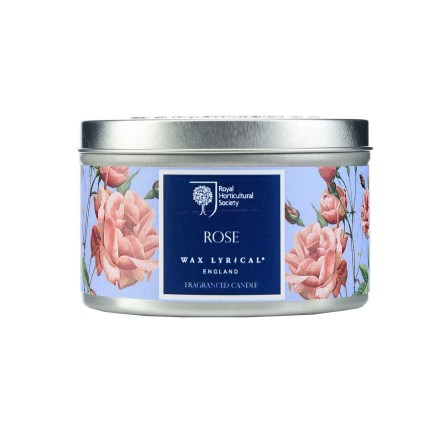 Fragranced Candle Tin Rose Doftljus