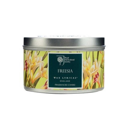Fragranced Candle Tin Freesia Doftljus