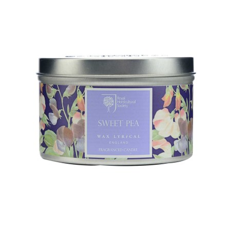 Fragranced Candle Tin Sweet Pea Doftljus