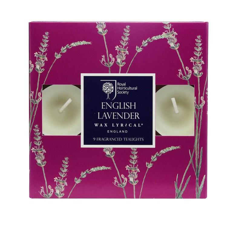 Tealights English Lavender värmeljus