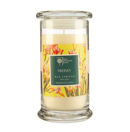 Fragranced Candle Jar Freesia Doftljus