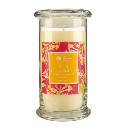 Fragranced Candle Jar Wild Honeysuckle Doftljus
