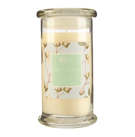 Fragranced Candle Jar Soft Cotton Doftljus
