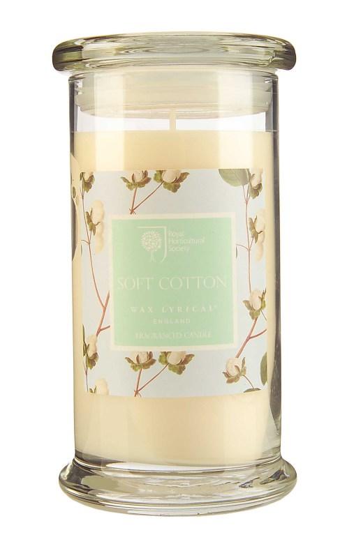 Fragranced Candle Jar Soft Cotton Doftljus