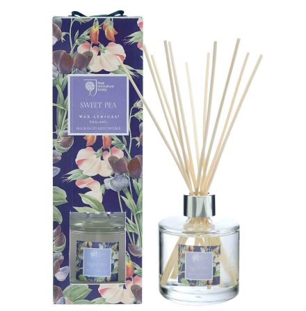 Large Frangranced Reed Diffuser Sweet Pea Doftstickor