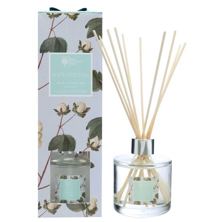 Large Frangranced Reed Diffuser Soft Cotton Doftstickor