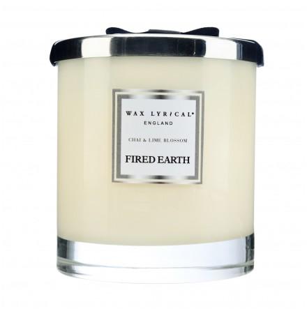 Large Fragranced Candle Jar Chai & Lime Blossom Doftljus med 2 vekar