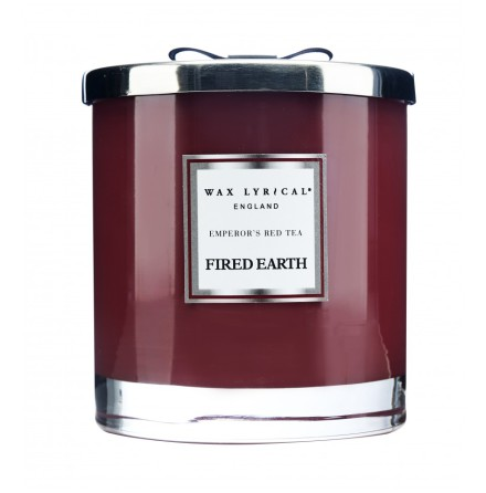 Large Fragranced Candle Jar Emperors Red Tea Doftljus med 2 vekar