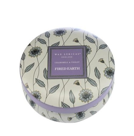 Fragranced Candle Tin Chamomile & Violet Doftljus