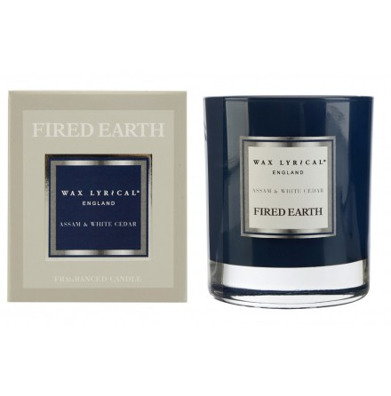 Fragranced Candle Jar Assam & White Cedar Doftljus