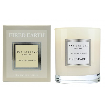 Fragranced Candle Jar Chai & Lime Blossom Doftljus