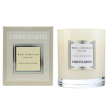 Fragranced Candle Jar Chai & Lime Blossom Doftljus