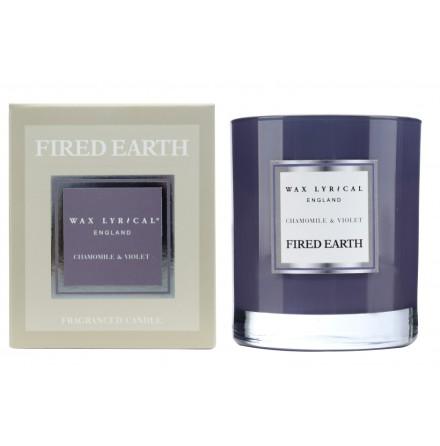 Fragranced Candle Jar Chamomile & Violet Doftljus