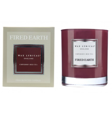 Fragranced Candle Jar Emperors Red Tea Doftljus