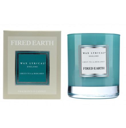 Fragranced Candle Jar Green Tea & Bergamot Doftljus
