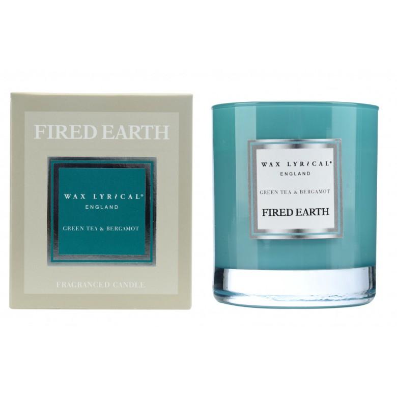 Fragranced Candle Jar Green Tea & Bergamot Doftljus