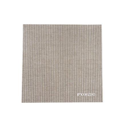 Pappservett natur-vit 50p 40x40