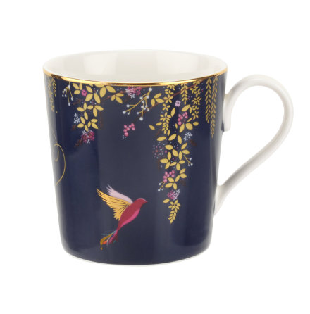 Sara Miller The Chelsea Collection Mugg - Navy 0.34l