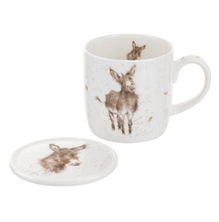 Wrendale Mug And Coaster Set - Gentle Jack