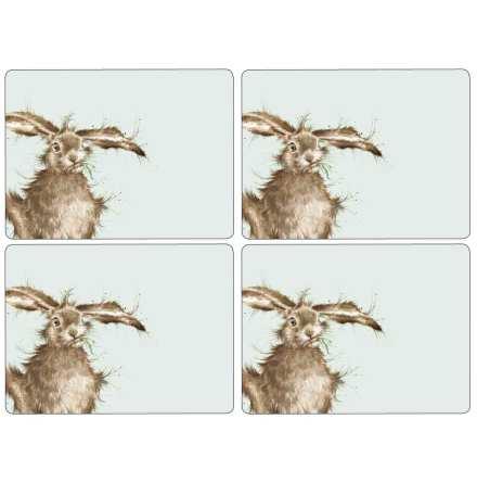 Wrendale Hare Bordsunderlägg 4-pack