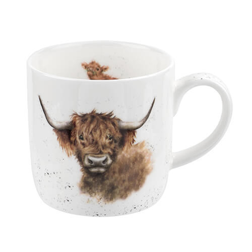 FBC Mugs Wrendale Highland Coo Cow