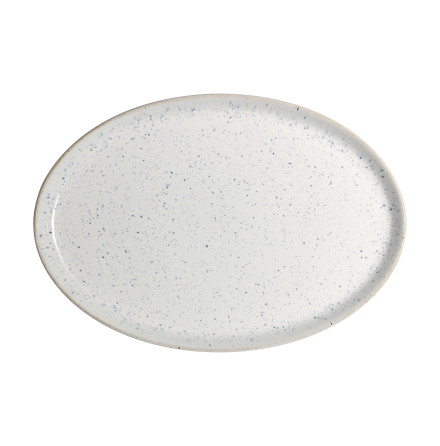 Studio Blue Chalk Oval Tallrik 27cm x 18.5cm