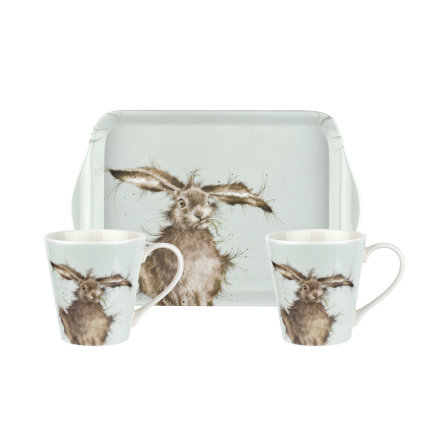 Wrendale Designs Mugg & Brickset Hare