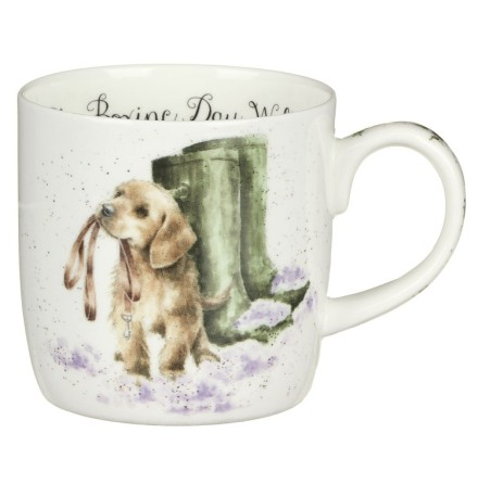 Wrendale Designs Boxing Day Walk (dog) Mugg 31cl