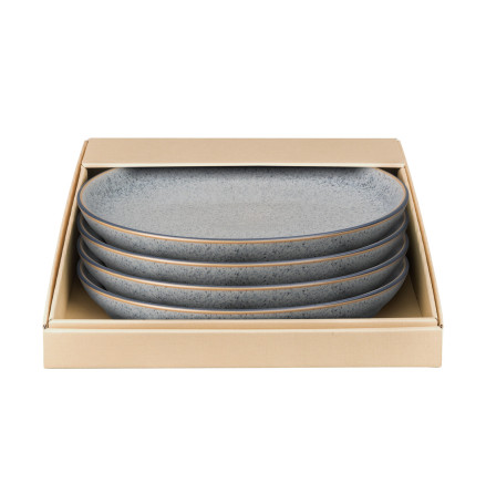 Studio Grey Coupe Tallrik 26cm 4-pack