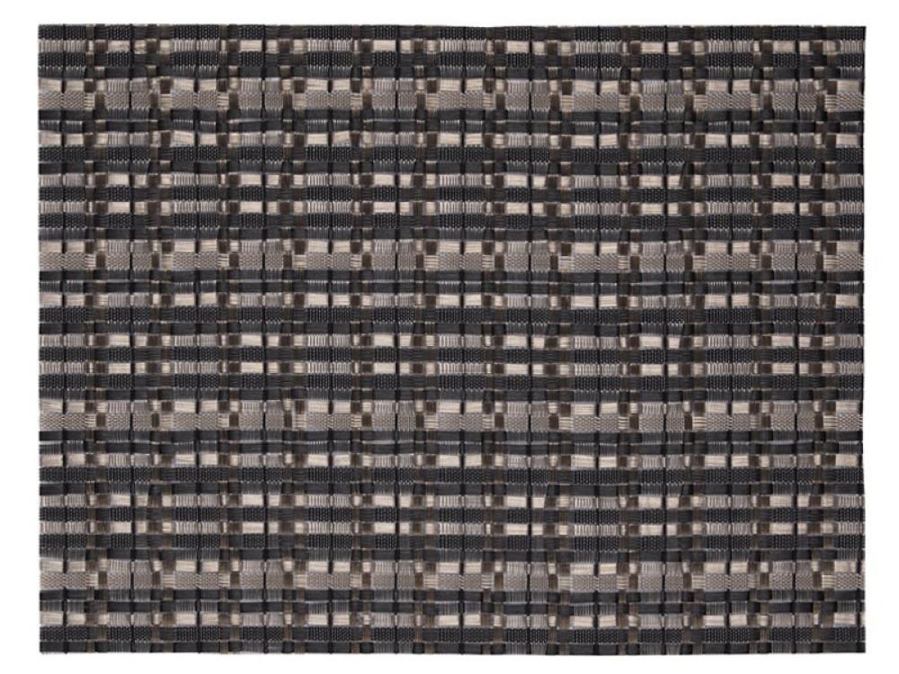 Bordstablett Edel Antrasitgrå/Silver 32x42cm