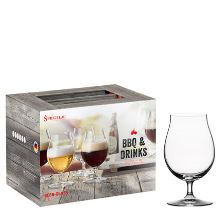 BBQ & Drinks Ölset 6-Pack