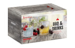BBQ & Drinks Softdrinkglas 6-pack