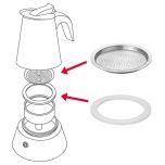 Espressobryggare »Brasilia Plus« 4 koppar