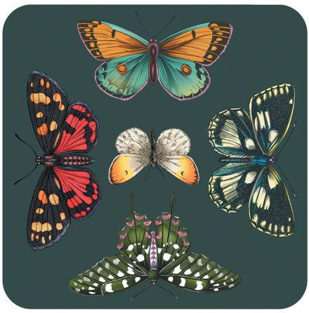 Botanic Garden Harmony Glasunderlägg 6-pack