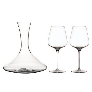 Toscana set Karaff 1,5L & 2 Bordeaux Vinlgas ( +2 st Bordeaux Vinglas på köpet)