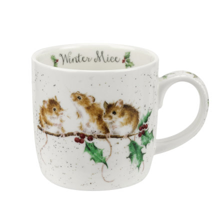 FBC Mugg Wrendale Designs Winter Mice 31cl